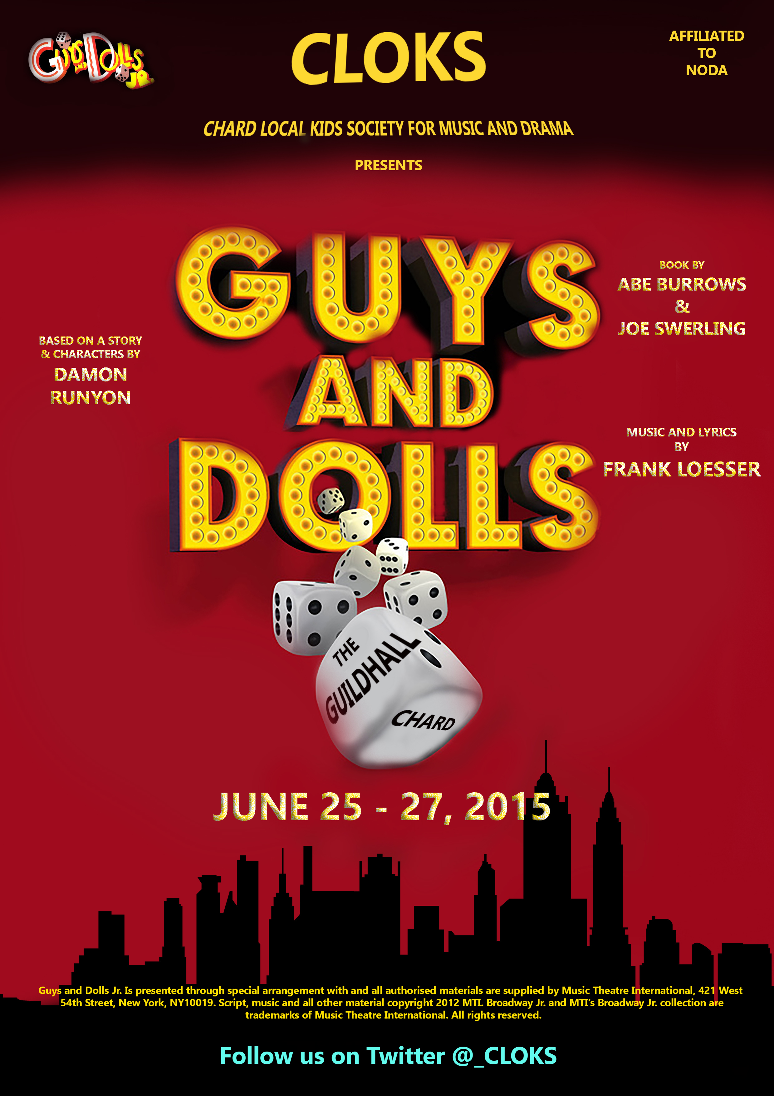 guys-and-dolls-programme-cover
